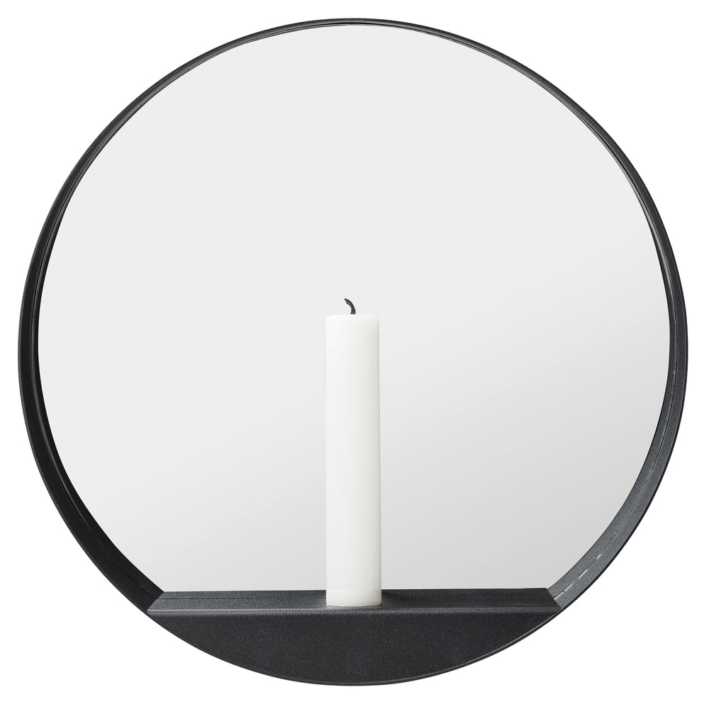 Load image into Gallery viewer, Glim candle mirror round