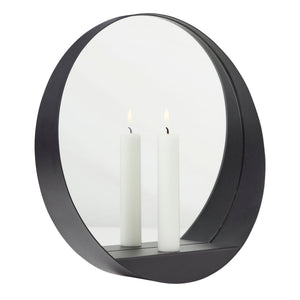 Glim candle mirror round - Minor flaws