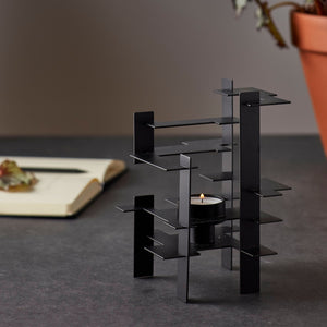 Lysverk candlelight holder black