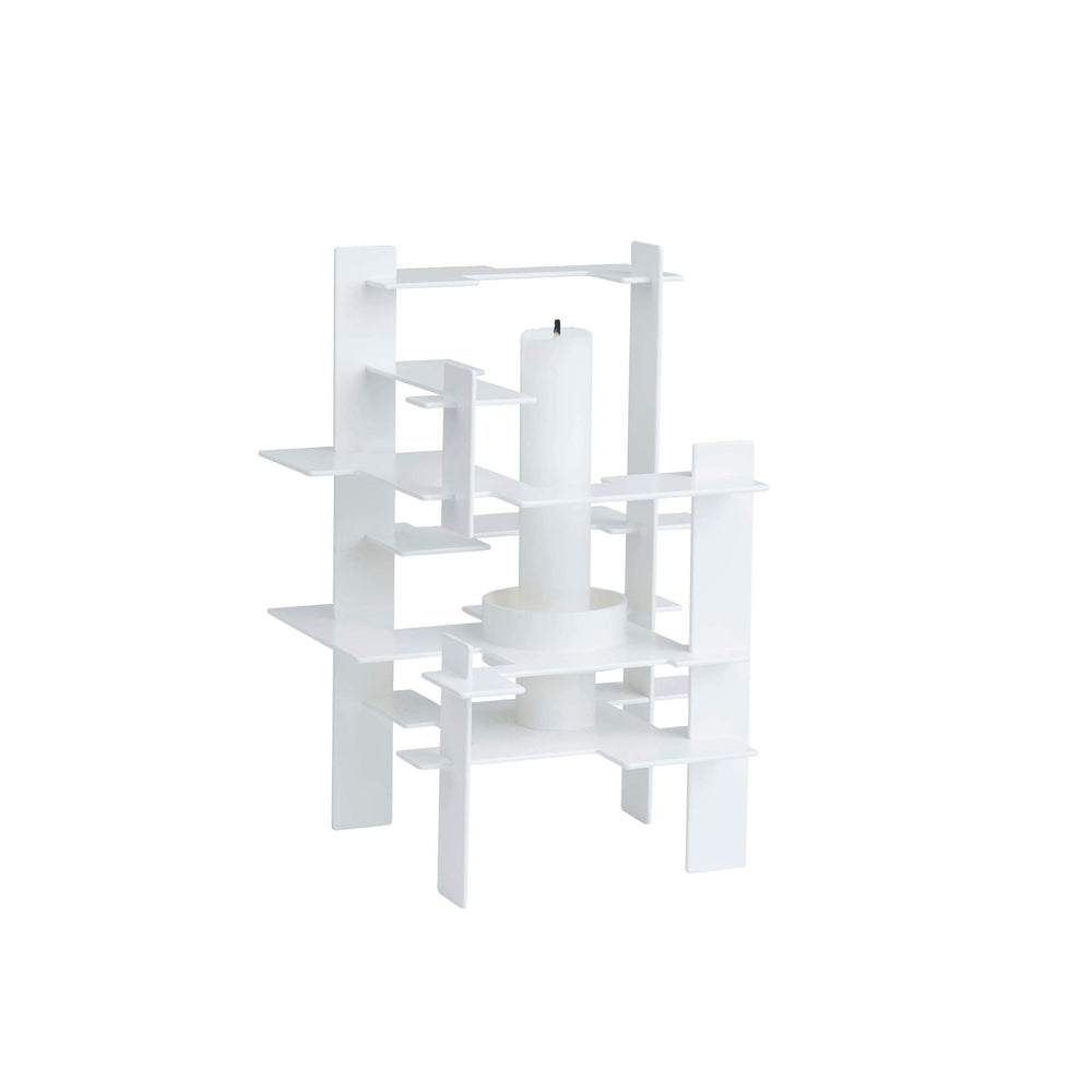 Lysverk candlelight holder white