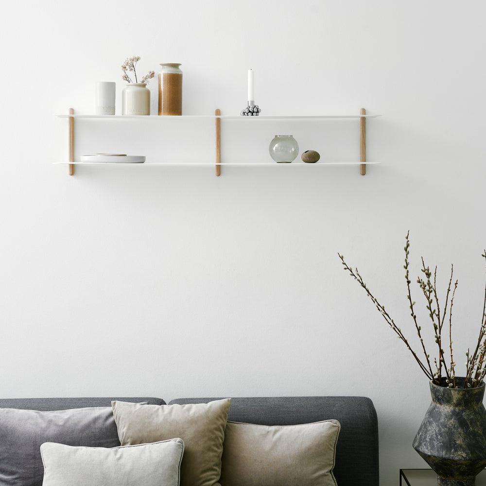 Nivo shelf C light oak/ white