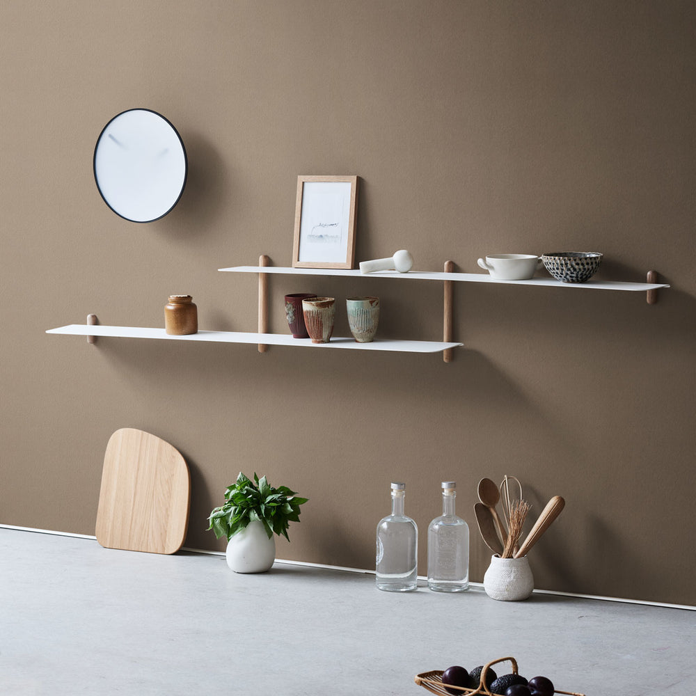 Load image into Gallery viewer, Nivo shelf H light oak/ white
