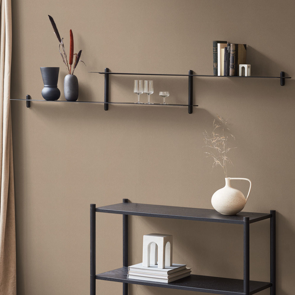 Load image into Gallery viewer, Nivo shelf H black ash/ black