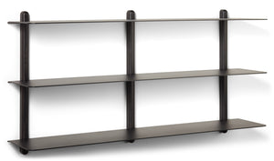 Load image into Gallery viewer, Nivo shelf large D black ash/ black