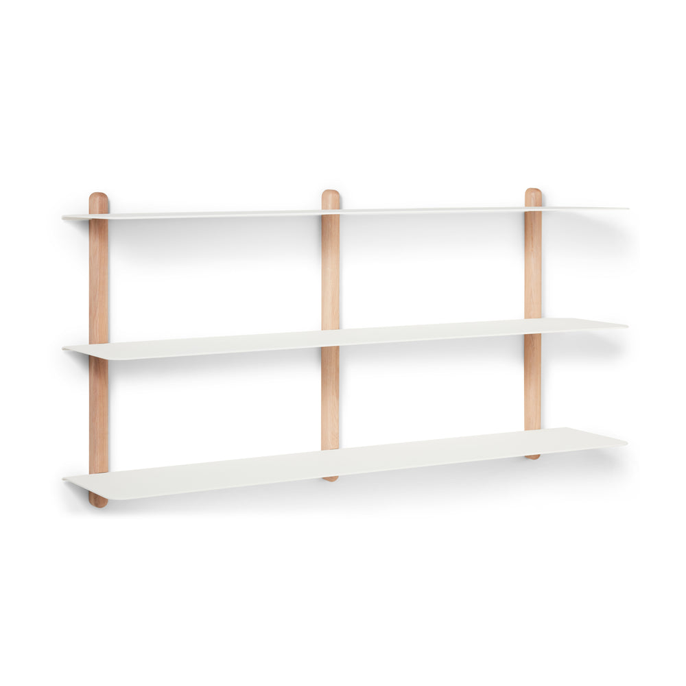 Nivo shelf large D light oak/ white