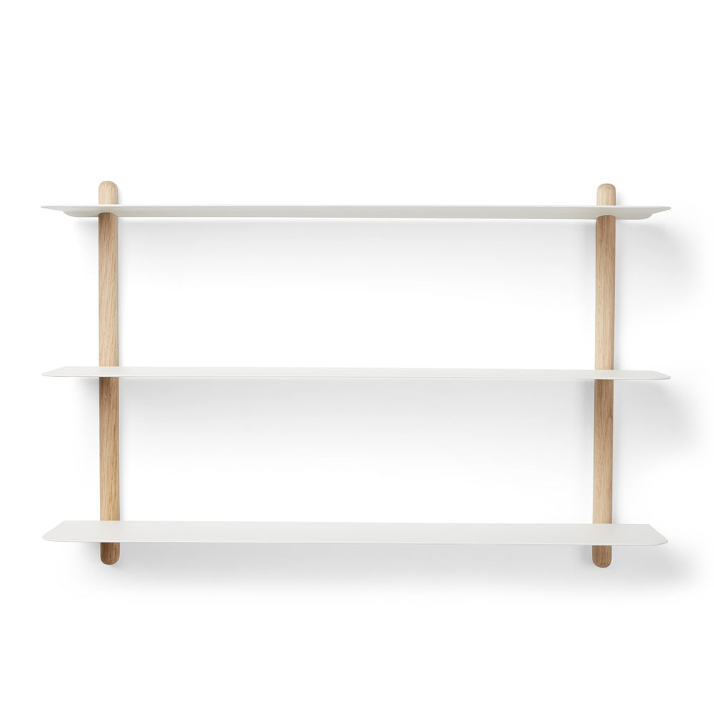 Load image into Gallery viewer, Nivo shelf A light oak/ white