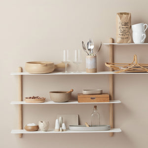 Nivo shelf B light oak/ white