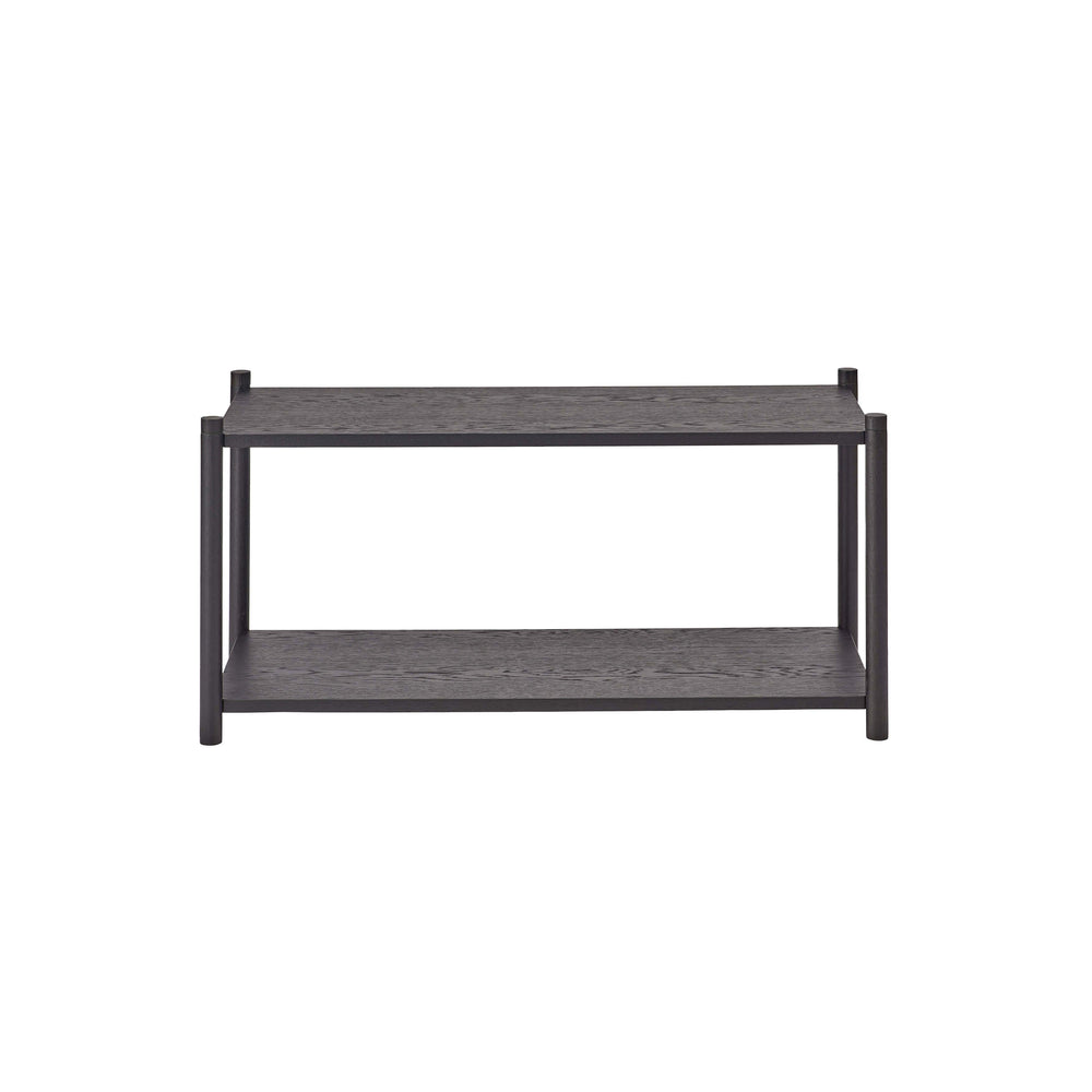 Load image into Gallery viewer, Sceene bookcase F black oak