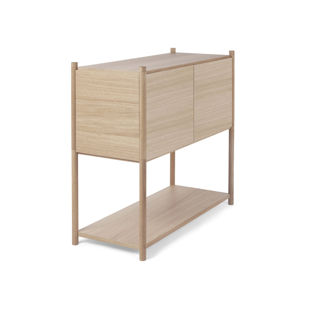 Sceene bookcase C light oak