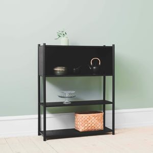 Load image into Gallery viewer, Sceene bookcase B black oak