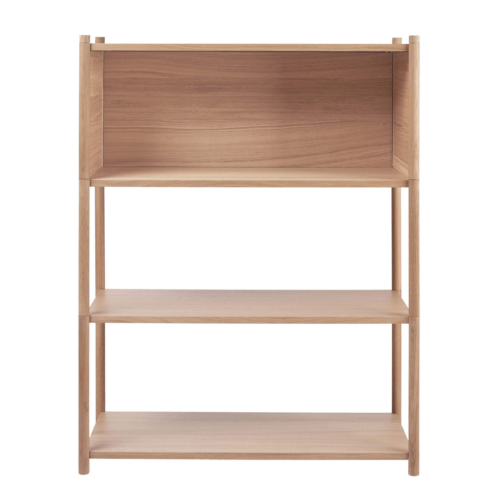 Sceene bookcase B light oak