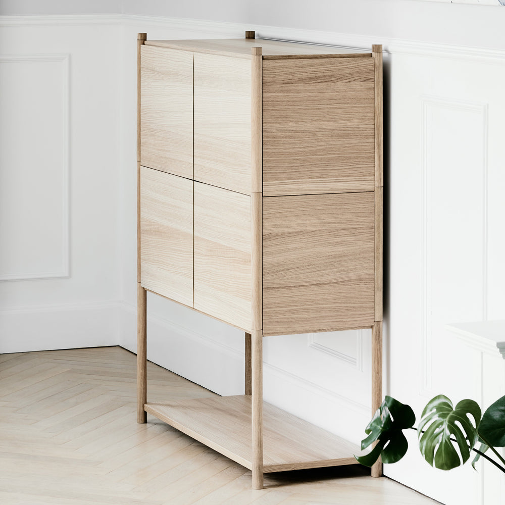 Load image into Gallery viewer, Sceene bookcase E light oak