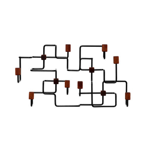 Load image into Gallery viewer, Underground coatrack small black