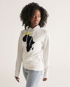 Premium White Collection: African Kings and Queens Women's Hoodie
