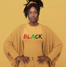 Load image into Gallery viewer, Black Women's Premium T-Shirt