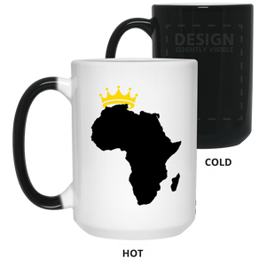 African Kings and Queens Color Changing Mug