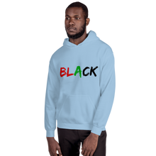 Load image into Gallery viewer, Black Men's Hoodie