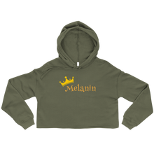 Load image into Gallery viewer, Melanin Queen Crop Hoodie