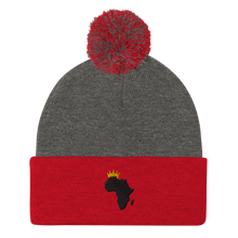 Load image into Gallery viewer, African Kings and Queens Pom-Pom Beanie