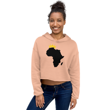 Load image into Gallery viewer, African Kings and Queens Crop Hoodie