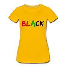 Load image into Gallery viewer, Women's Premium T-Shirt - sun yellow