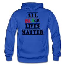 Load image into Gallery viewer, All Black Lives Matter Adult Hoodie - royal blue
