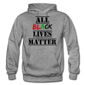 All Black Lives Matter Adult Hoodie - graphite heather