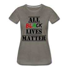 Load image into Gallery viewer, All Black Lives Matter Premium T-Shirt - asphalt gray
