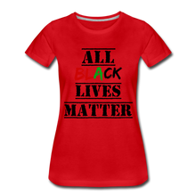 Load image into Gallery viewer, All Black Lives Matter Premium T-Shirt - red