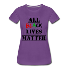 Load image into Gallery viewer, All Black Lives Matter Premium T-Shirt - purple