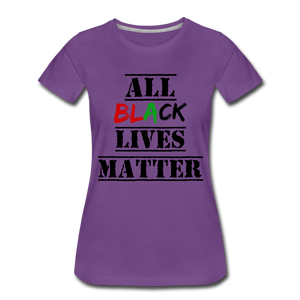 All Black Lives Matter Premium T-Shirt - purple