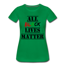 Load image into Gallery viewer, All Black Lives Matter Premium T-Shirt - kelly green