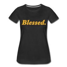 Load image into Gallery viewer, Blessed Period Women's Premium T-Shirt - black