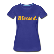 Load image into Gallery viewer, Blessed Period Women's Premium T-Shirt - royal blue