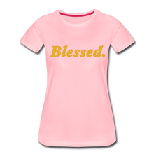 Load image into Gallery viewer, Blessed Period Women's Premium T-Shirt - pink