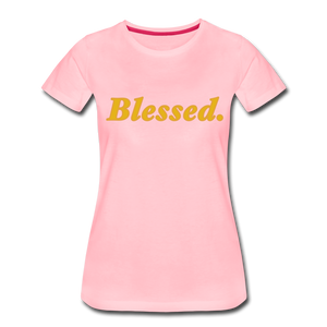 Blessed Period Women's Premium T-Shirt - pink