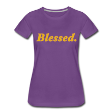 Load image into Gallery viewer, Blessed Period Women's Premium T-Shirt - purple