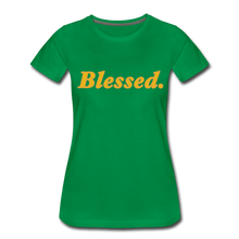Load image into Gallery viewer, Blessed Period Women's Premium T-Shirt - kelly green