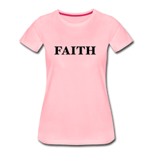 Load image into Gallery viewer, Faith Women's Premium T-Shirt - pink