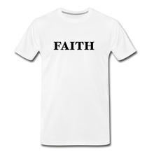 Load image into Gallery viewer, Faith Men's Premium T-Shirt - white