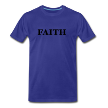 Load image into Gallery viewer, Faith Men's Premium T-Shirt - royal blue