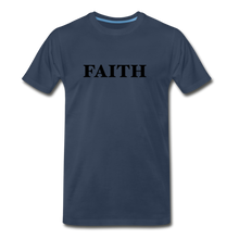 Load image into Gallery viewer, Faith Men's Premium T-Shirt - navy