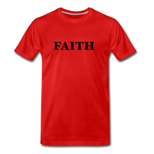 Load image into Gallery viewer, Faith Men's Premium T-Shirt - red
