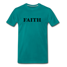 Load image into Gallery viewer, Faith Men's Premium T-Shirt - teal