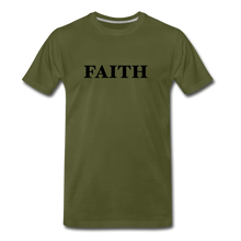 Load image into Gallery viewer, Faith Men's Premium T-Shirt - olive green