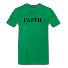 Load image into Gallery viewer, Faith Men's Premium T-Shirt - kelly green