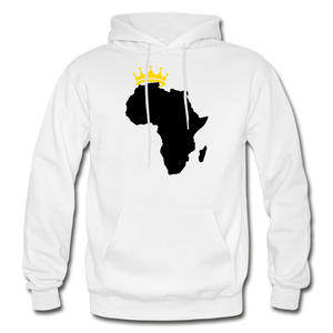 African Kings and Queens Men's Hoodie - white