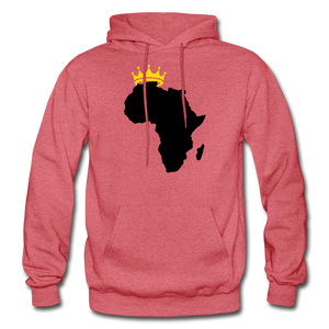 African Kings and Queens Men's Hoodie - heather red