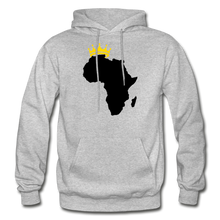 Load image into Gallery viewer, African Kings and Queens Men's Hoodie - heather gray