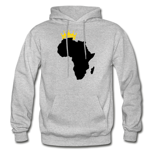 African Kings and Queens Men's Hoodie - heather gray